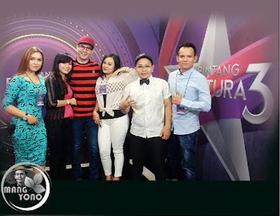 Mentor Beniqno dan lima anak didik Bintang Pantura 3 Asep AS Subang, Hardy Medan, Fema Depok, Azizah Gowa Makassar, Nurlela Kuningan