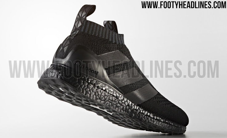 Triple Black Adidas Ace 16 PureControl Ultra Boost Released Footy Headlines