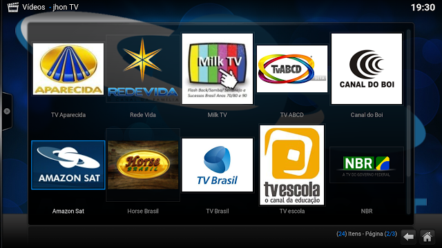 Add-on - Jhon TV - KODI