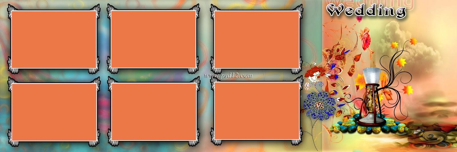 Wedding Album Design 12x36 Psd Files 11