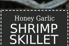 Honey Garlic Shrimp Skillet