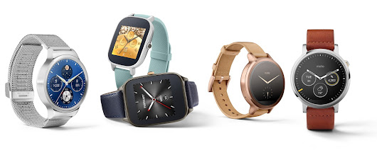 Android Wear: New watch styles and sizes