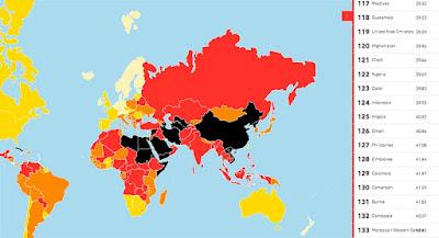 Index Kebebasan Pers Dunia 2017 : Meski naik 6 tingkat, Papua dan UU ITE jadi ganjalan Indonesia