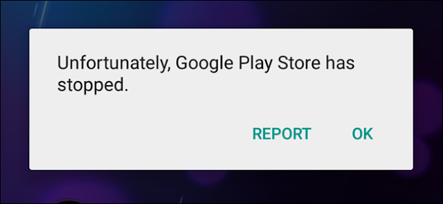 How to Solve Unfortunately, Google play store has stopped