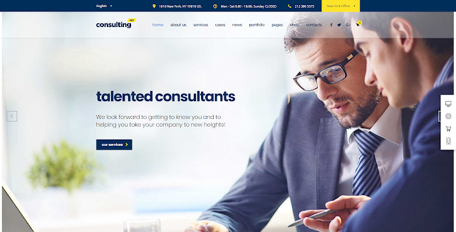 CONSULTING - BUSINESS - FINANCE WORDPRESS THEME