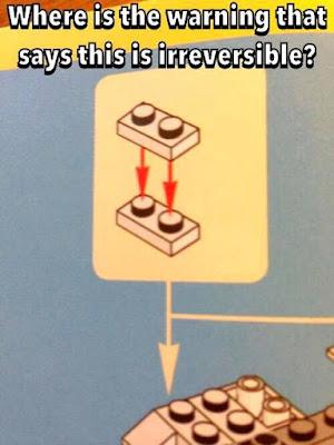 lego 1x2, lego humor, funny lego, lego meme, lego instructions