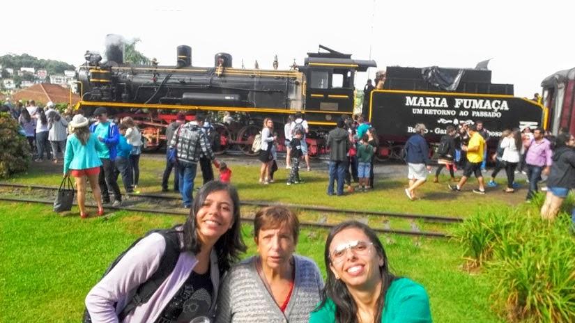 City Tour Vale dos Vinhedos, Rio Grande do Sul - Trem Maria Fumaça em Garibaldi