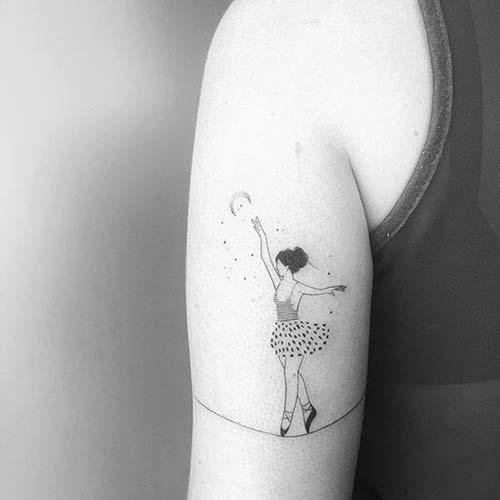 kadın üst kol dövmeleri tumblr woman upper arm tattoos