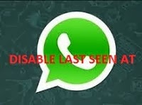 disable lastseen in whatsapp
