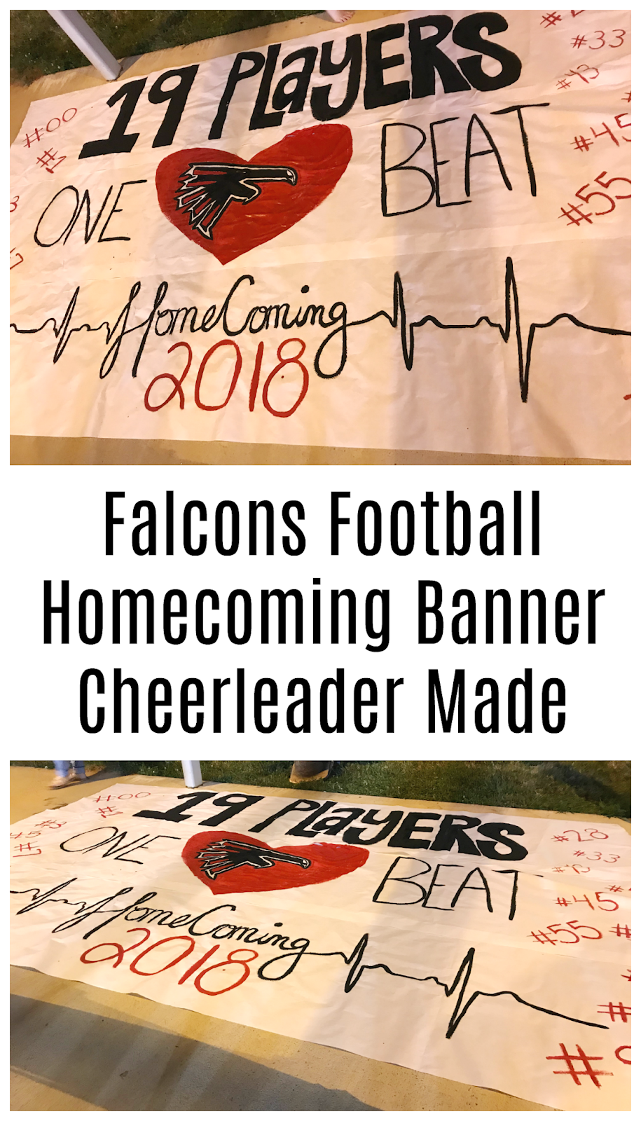 homecoming banner idea