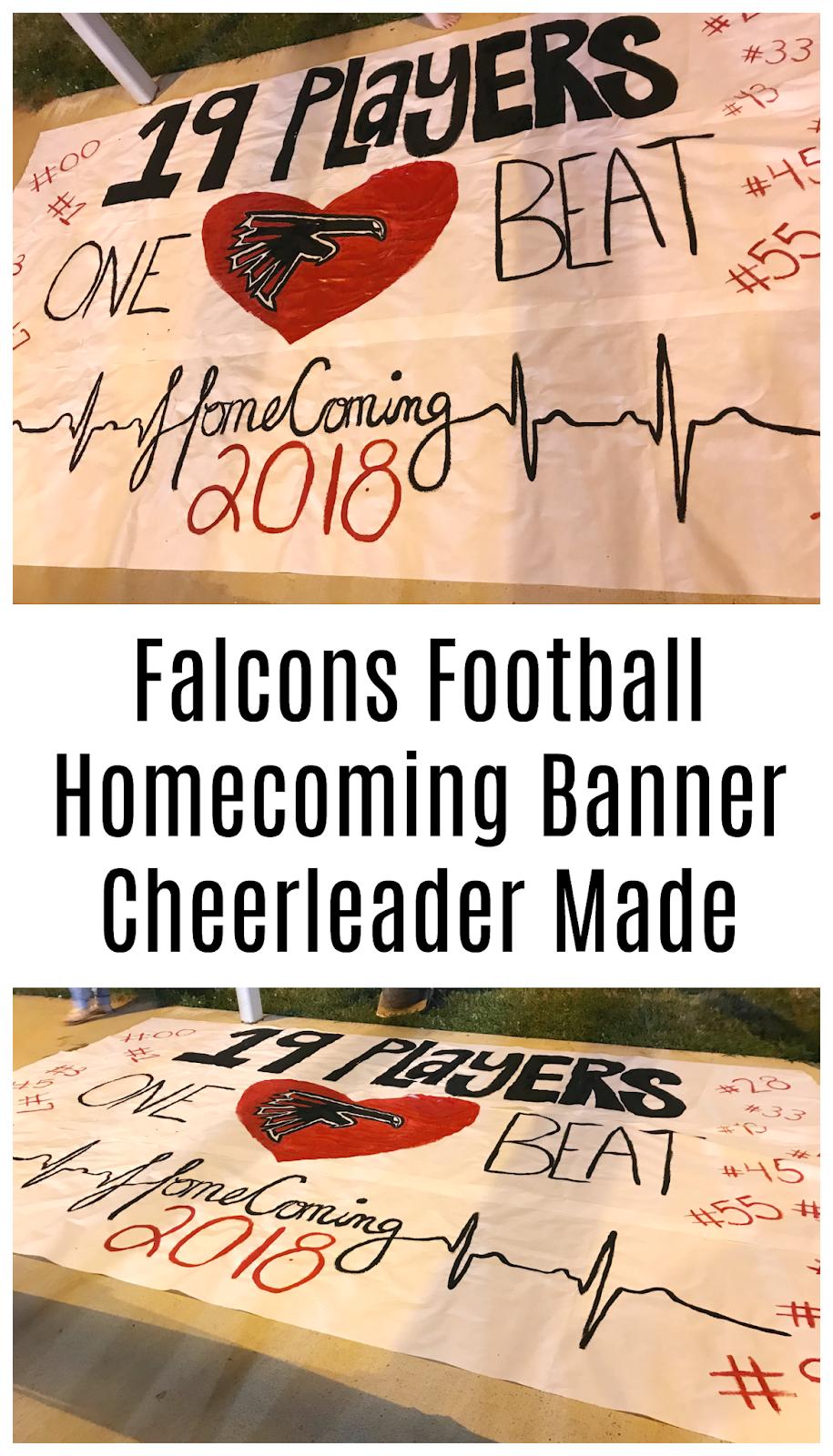 homecoming banner idea