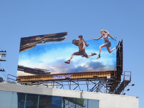 Valerian City of a Thousand Planets movie billboard