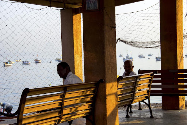 fishermen, worli, jetty, nets, mumbai, reminiscing, memories, arabian sea, fishing boats,