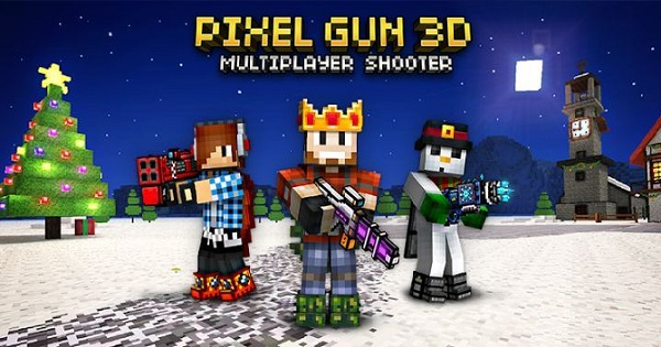 Download Pixel Gun 3d Pocket Edition APK Mod Data for Android Game