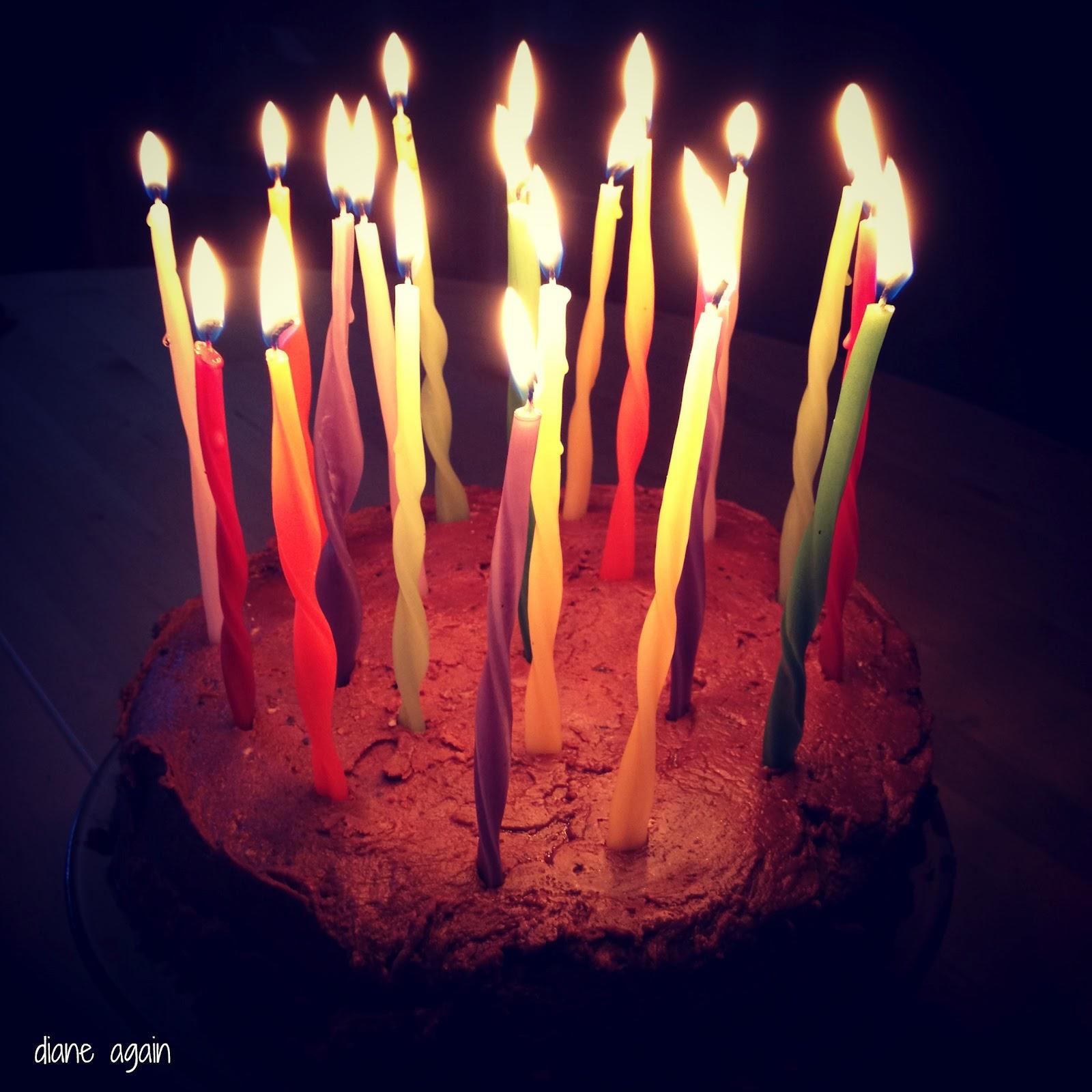 Happy Birthday Diane Cake Make