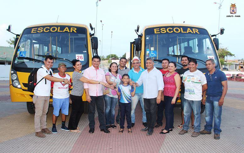 Juruti recebe micro-ônibus para o transporte escolar