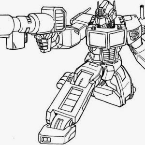 optimus prime animated coloring pages | Coloring Pages transformers Optimus Prime printable ...