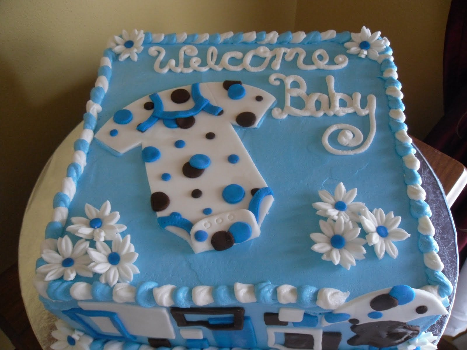 10 Gorgeous Cake Designs For Baby Shower