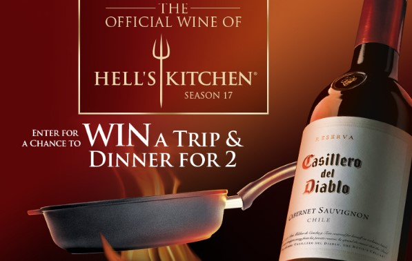 DIABLO WINE HELL'S KITCHEN SWEEPSTAKES