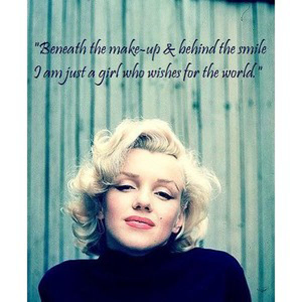 Marilyn Monroe Quotes: Confessions Of A Twice Cancer Survivor
