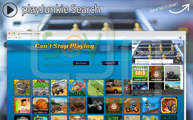 PlayJunkie Search (Adware)