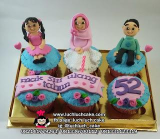 Cupcake Anggota Keluarga