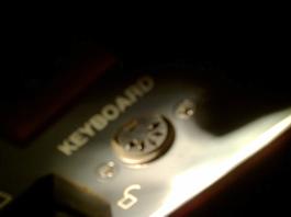 DIN 5pin (old standar keyboard connector)