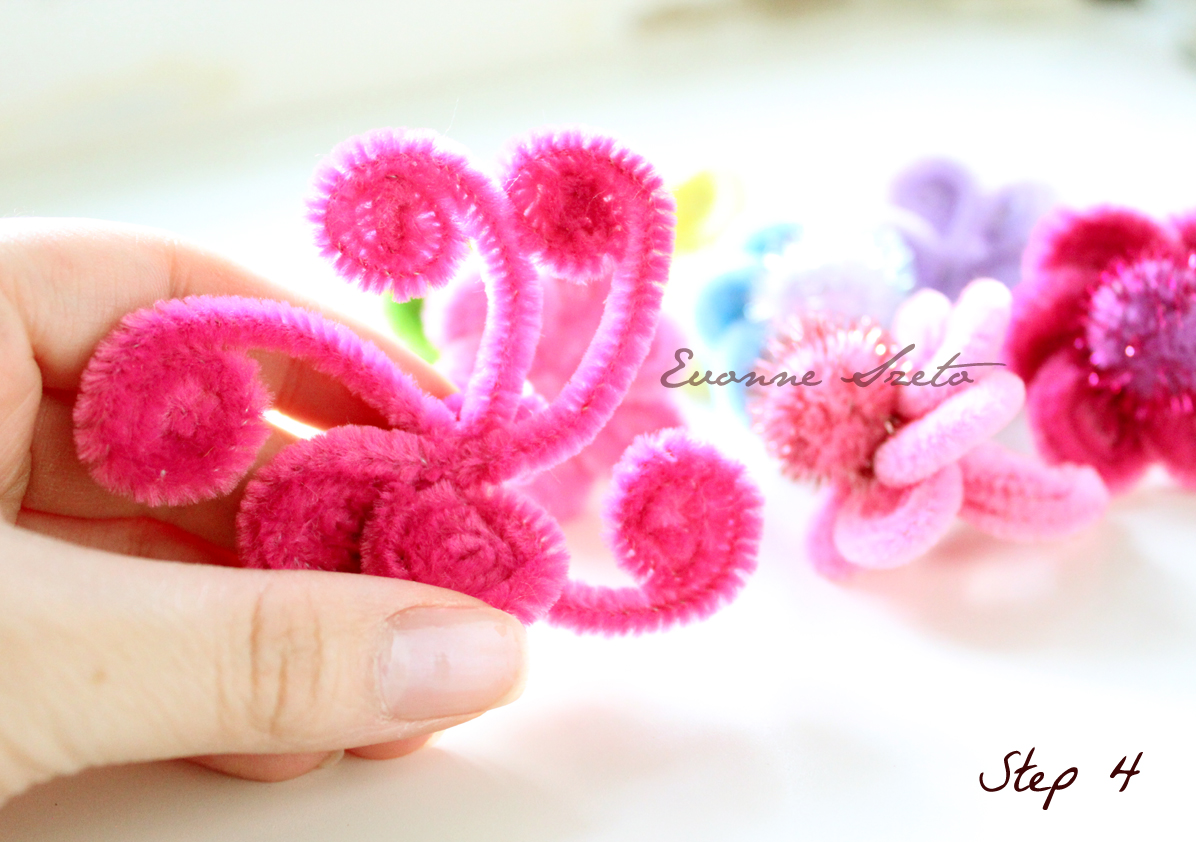 sweet from the heart: Pipe Cleaner Daisy Rings Tutorial ...
