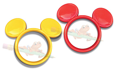 Illustration of plastic Mickey Mouse ears for game