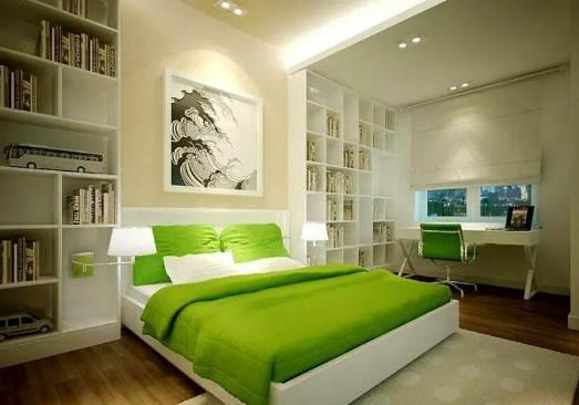 Kamar Rumah Minimalis Type 30 Dengan warna cat Berkualitas