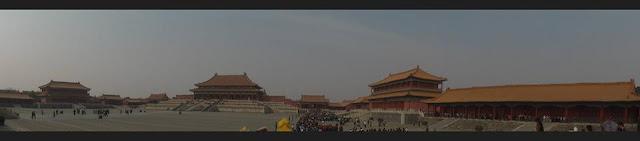 Panorámica de la Ciudad Prohibida (Beijing) (@mibaulviajero)