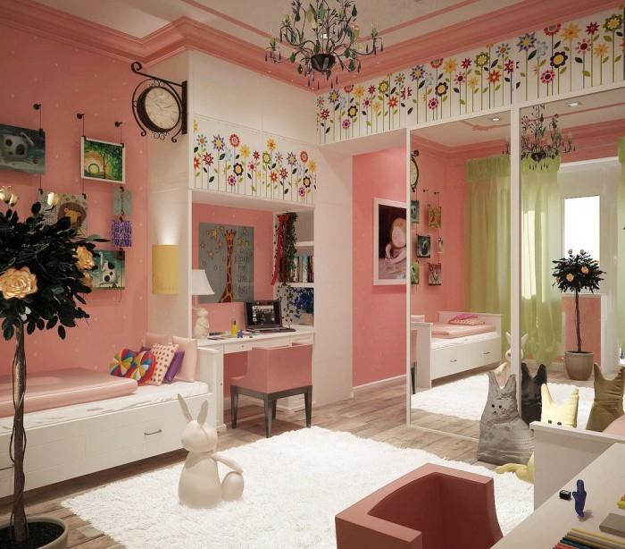 Hogares frescos 100 dise os de habitaciones para ni as for Cuartos de ninas vonitas