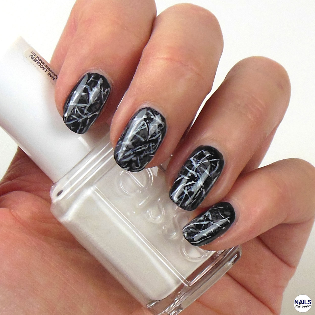 black marble nails nails all over. Black Bedroom Furniture Sets. Home Design Ideas