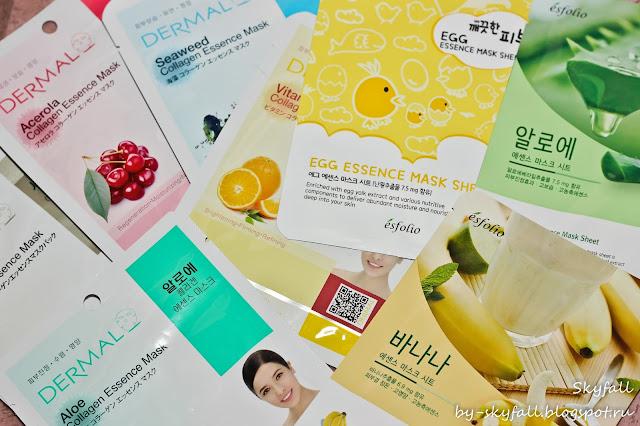 корейские тканевые маски, отзывы