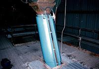FRP chute heater