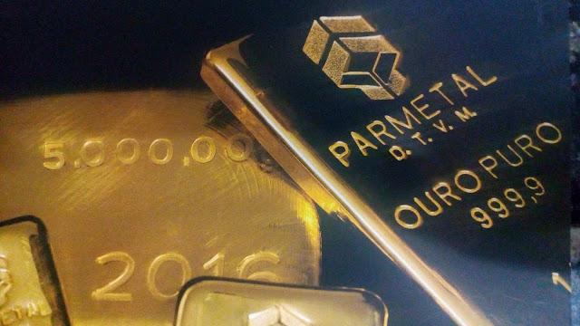 A Parmetal atua no mercado de ouro