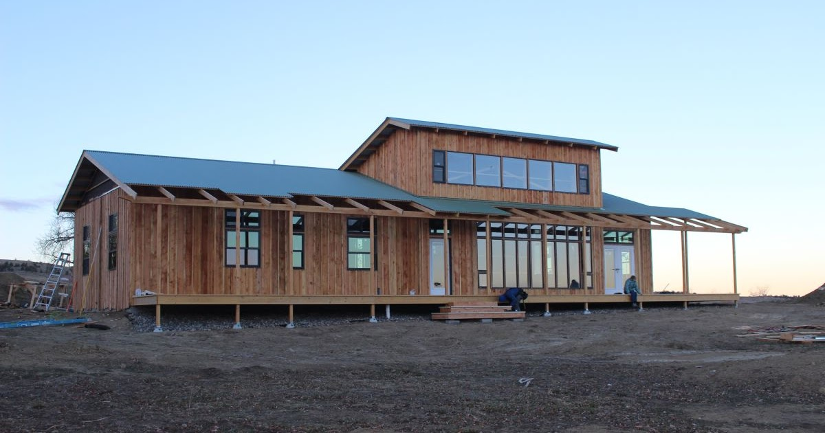 Build it solar blog innovative energy efficient solar for Cost of building a house in montana