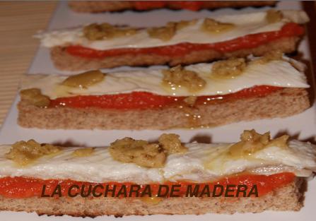 Anguila Ahumada Con Tomate Natural