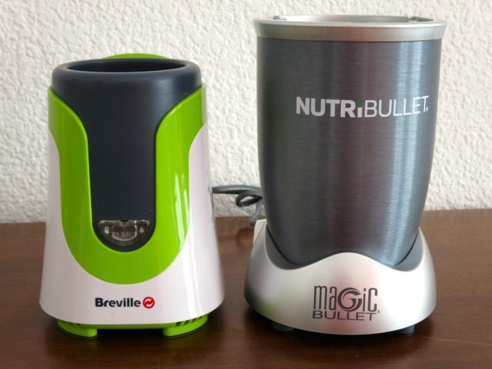 Blenders: Breville Blend Active vs NutriBullet