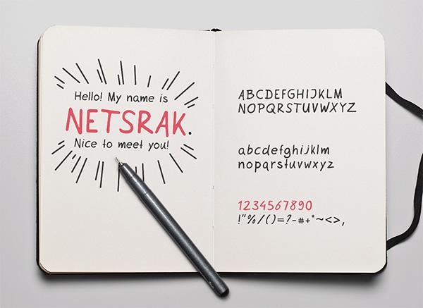Download Font Handletter Tulisan Tangan Terbaik - Netsrak Font