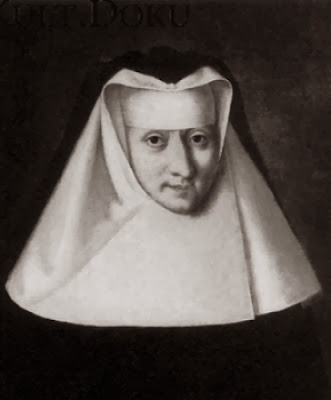 Xaveria Gasser, Abbess of the Elisabeth Sisters Convent in Klagenfurt, Carinthia, Austria in 1756