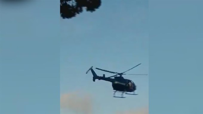 Venezuela Supreme Court attacked from helicopter