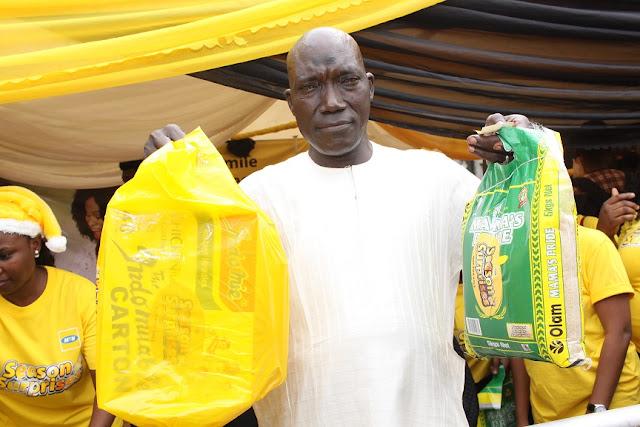 Season of surprises begin as Falomo residents claim first gifts