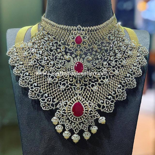 3 in 1 Grand Diamond Necklace