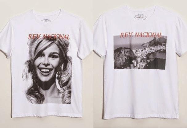 68d4c635469bc A famosa marca de camiseta OMA TEES fechou parceria com o top fotografo J R  DURAN para criar sete T- shirts estampadas com fotos escolhidas pelo  próprio ...