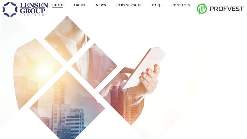 Lensen Group LTD обзор и отзывы вклад 100$