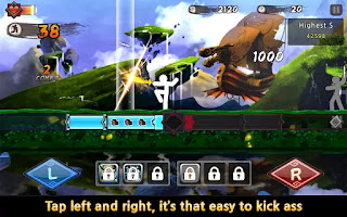 One Finger Death Punch Mod Apk v4.96 Terbaru