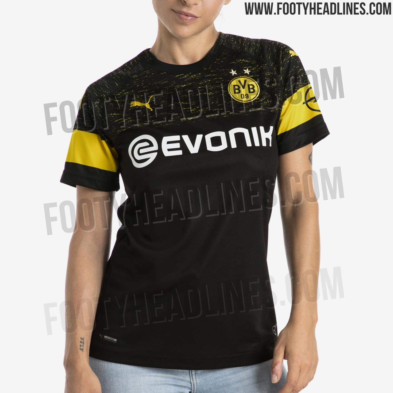 23aea954201 OFFICIAL Pictures  Borussia Dortmund 18-19 Away Kit Leaked