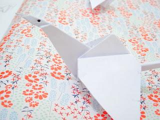 origami de la grue - Respire n°1