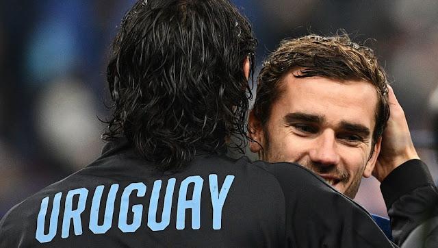 Antoine Griezmann : Après l'Euro 2020 je jouerai pour l'Uruguay